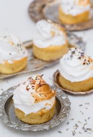 Citronu – lavandas tējas kūkas