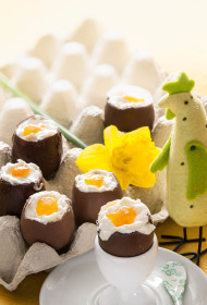 Siera krēms šokolādes olu trauciņos