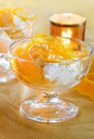 Apelsīnu semifreddo