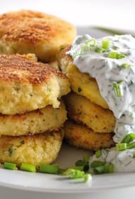 Kartupeļu un brinzas plāceņi