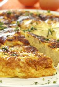 Puķkāpostu omlete