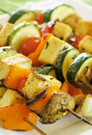 Tofu un dārzeņu iesmiņi