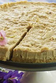 Siera kūka ar banāniem un zemesriekstu sviestu