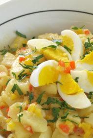 Kartupeļu salāti bavāriešu gaumē