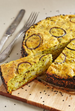 Ziedkāpostu un Parmas siera pīrāgs
