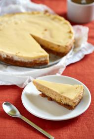 Ķirbju siera kūka