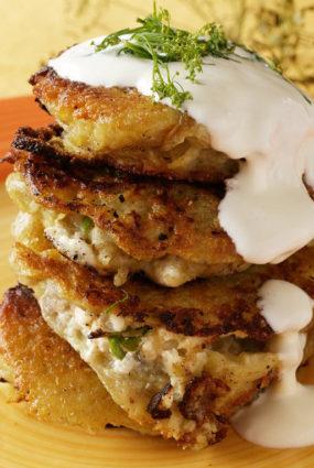 Kartupeļu pankūkas Kuldīgas gaumē