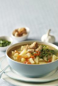 Ķiploku zupa