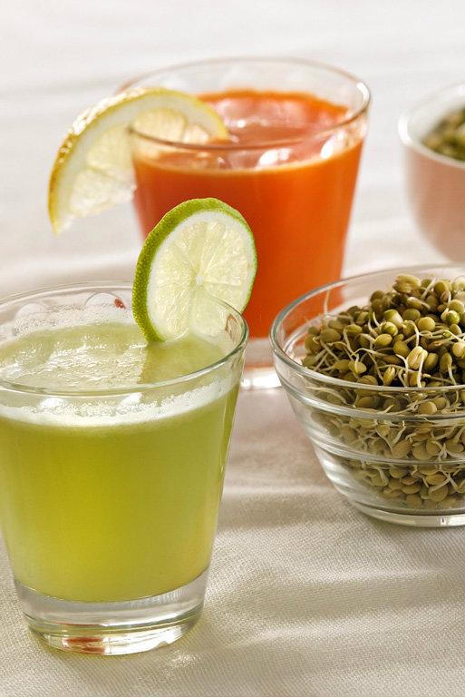 Burkānu, ābolu, ķirbju un ingvera sula enerģijai