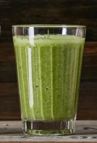 Zaļais salātu smūtijs