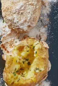 Sālī cepti kartupeļi