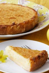 Aromātiskā citronu kūka