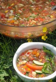 Gaspačo – auksta tomātu veldze vasaras viducī