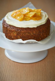 Apelsīnu magoņu kūka
