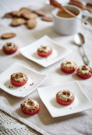 Mini piparkūku siera kūkas
