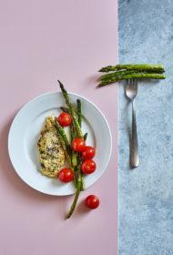 Zaļumos un Parmas sierā panēta mencas fileja