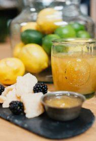 Citronu un medus marmelāde