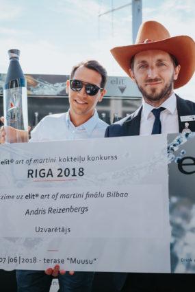 Elit Art of Martini konkursā uzvar Andris Reizenbergs