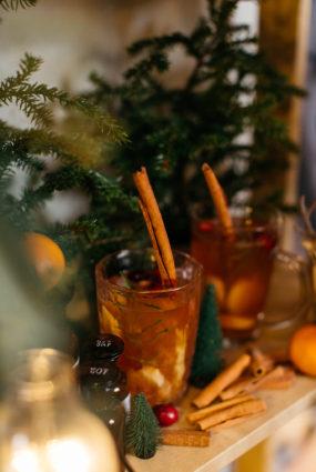 Ziemas karstais dzēriens