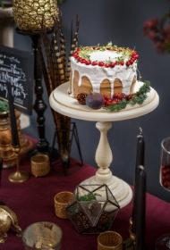 Ziemassvētku pusdienu kūka