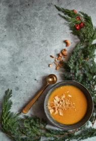 Burkānu un ingvera zupa