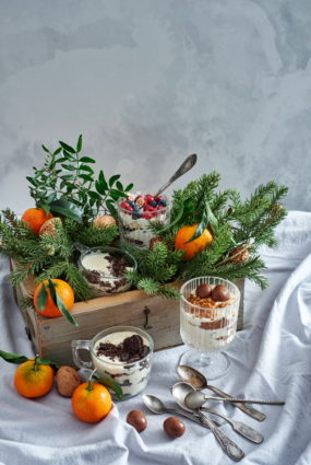 Ziemassvētku kārtojums – tiramisu