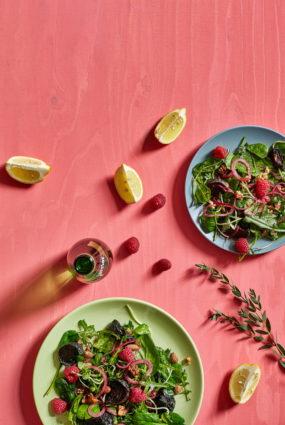 Avenēs ceptu biešu salāti