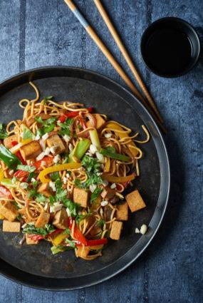 Voks ar tofu un dārzeņiem