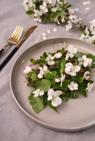 Pavasara zaļumu salāti
