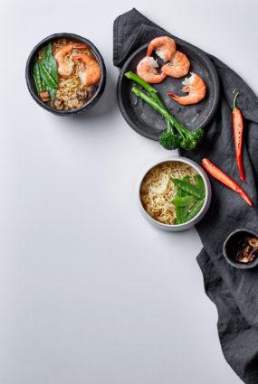 Āzijas nūdeļu zupa