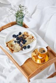 Brokastu pankūka ar čia sēklām