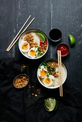 Congee jeb ķīniešu rīsu putra