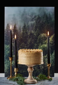 Olu liķiera kūka