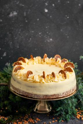 Mandarīnu maskarpones kūka