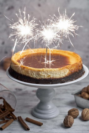 Siera kūka ar karameli