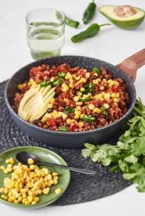 Sarkanie meksikāņu rīsi