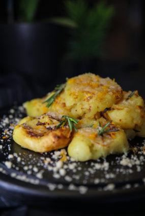 Spiestie kraukšķīgie  kartupeļi