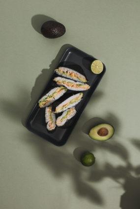 Onigirazu jeb suši sviestmaize