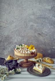Citronu un meringa tarte