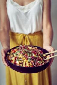 Pastas salati itāļu gaumē